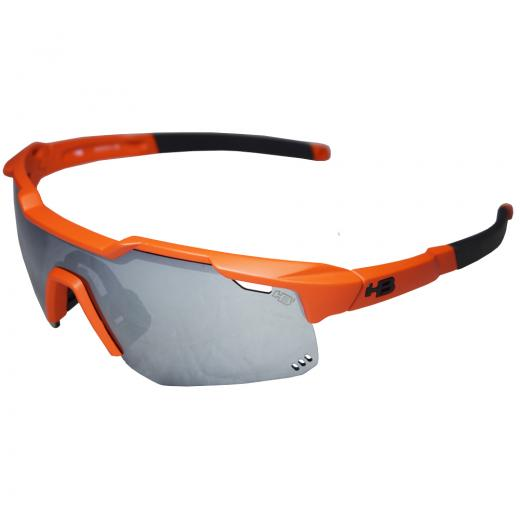 �culos HB Shield Mountain Matte Orange/Silver